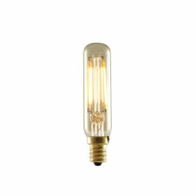 2W 120-Volt (2200K) T6 Radio Tube Light Bulb (Set of 4)