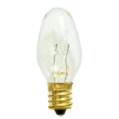 5W 120-Volt C7 Replacement Light Bulb (Pack of 25) (Set of 3)