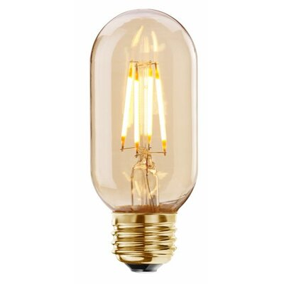 4W Amber E26/Medium LED Light Bulb (Set of 2)