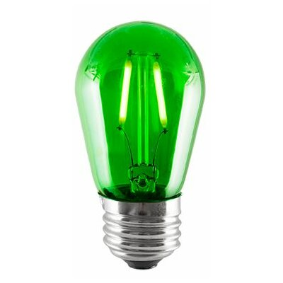 2W Green LED Sign Light Bulb (Set of 5)