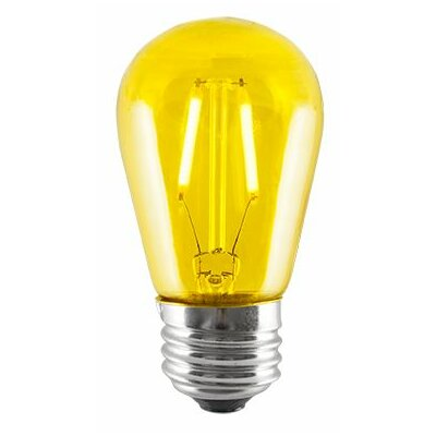 2W Yellow LED Sign Light Bulb (Set of 5)