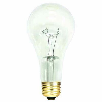 150W General Service Incandescent Light Bulb (Set of 15)