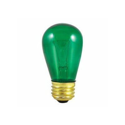 11W Transparent Green String Replacement Light Bulb (Set of 28)