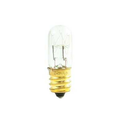 Tubular 6W Incandescent Amusement and Appliance Bulb (Set of 40)