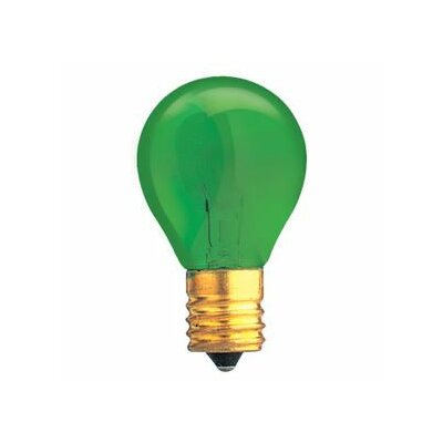 Specialty 10W Transparent Green String Replacement Light Bulb (Set of 33)