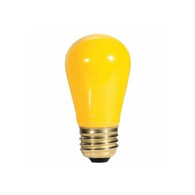 11W Yellow String Replacement Light Bulb (Set of 28)