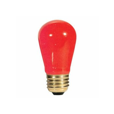 11W Red String Replacement Light Bulb (Set of 28)