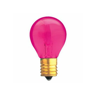 Specialty 10W Transparent Pink String Replacement Light Bulb (Set of 33)