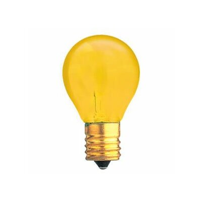 Specialty 10W Transparent Yellow String Replacement Light Bulb (Set of 33)