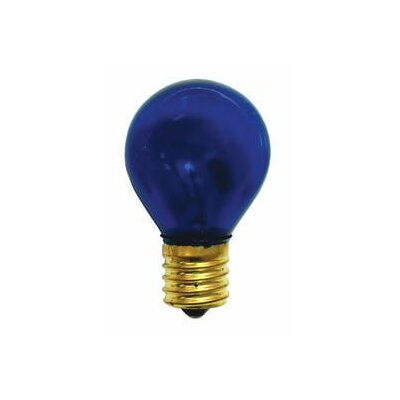 Specialty 10W Transparent Blue String Replacement Light Bulb (Set of 33)