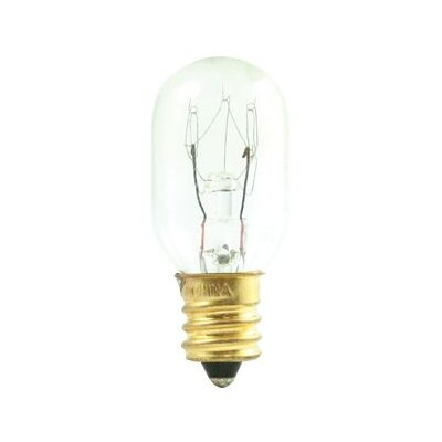 Tubular 15W Incandescent Amusement and Appliance Bulb (Set of 33)