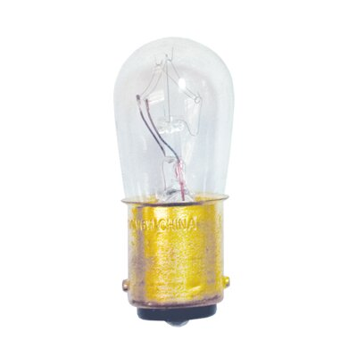 Specialty 6W 130-Volt Sign and Indicator Bulb