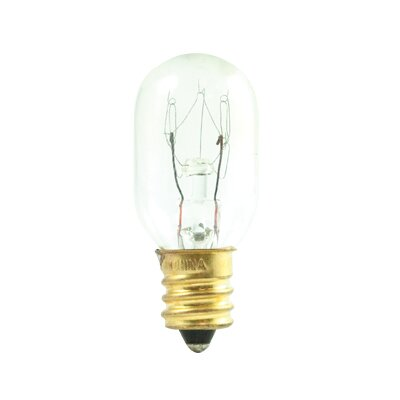 Tubular 15W Frosted Incandescent Amusement and Appliance Light Bulb (Set of 32)