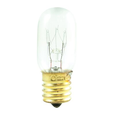 Tubular 15W Incandescent Amusement and Appliance Bulb (Set of 30)