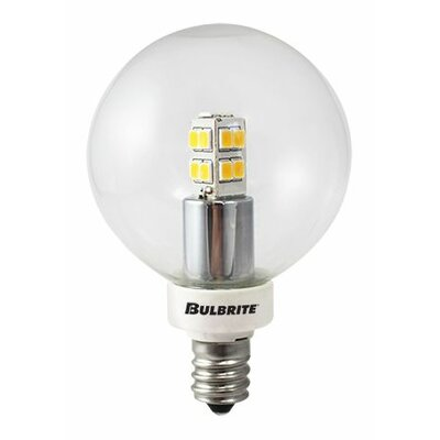 2.5W LED Globe Light Bulb (Set of 3)