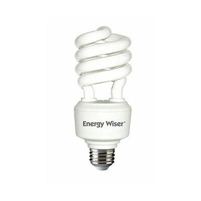Frosted E26/Medium Compact Fluorescent Light Bulb Bulb Temperature: 2700K