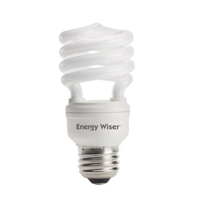Super Mini 13W 120-Volt Fluorescent Light Bulb (Set of 8) Color: Soft Daylight