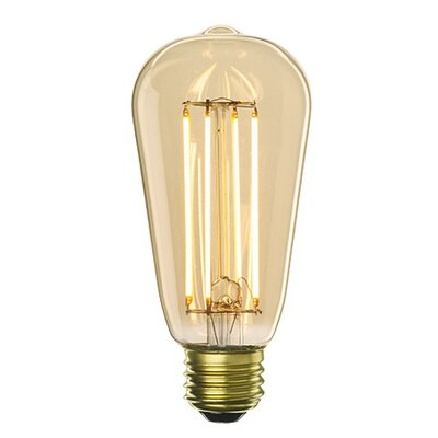 Nostalgic 5W E26 Medium Base LED Light Bulb (Set of 6)