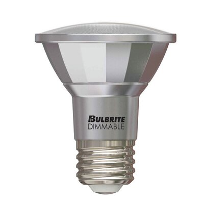 7W E26 Medium Base LED Light Bulb (Set of 3)