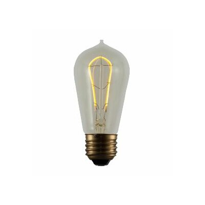 2W E26 ST18 LED Light Bulb (Set of 2)