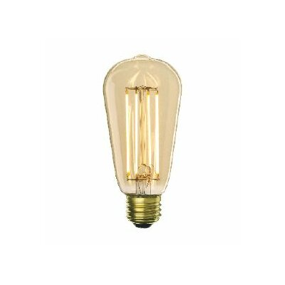 7W E26 ST18 LED Light Bulb (Set of 3)