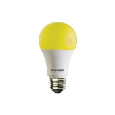 9.5W Yellow Bug Medium E26 A19 LED Light Bulb (Set of 2)