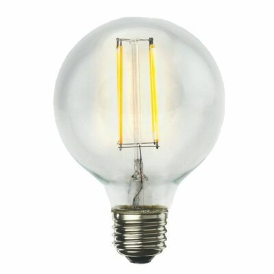 7W E26 G25 LED Light Bulb (Set of 3)