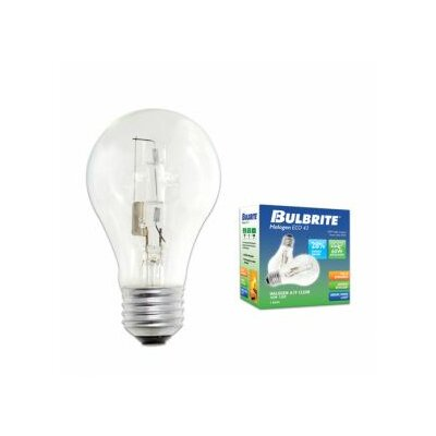120-Volt Halogen Light Bulb Wattage: 53W