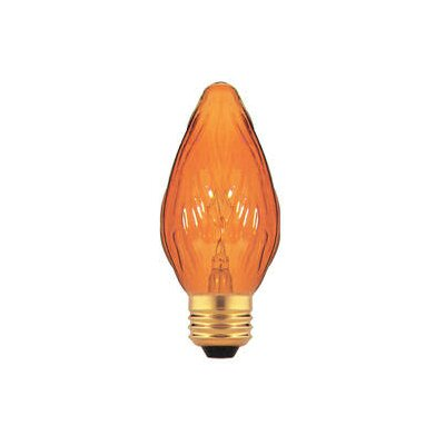 Amber 130-Volt Incandescent Light Bulb (Set of 25) Wattage: 15W