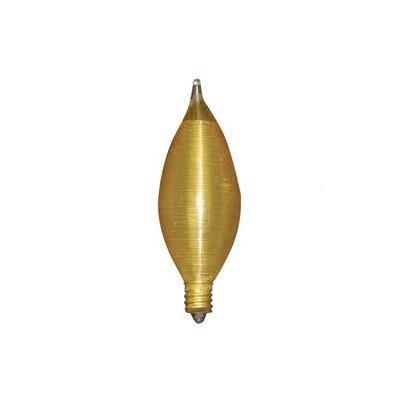 25W Amber 130-Volt Incandescent Light Bulb (Set of 10)
