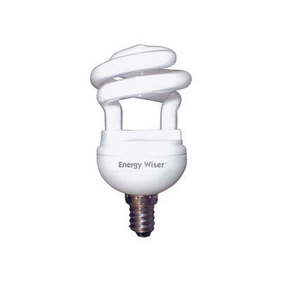 25W E26/Medium Compact Fluorescent Light Bulb (Set of 7)