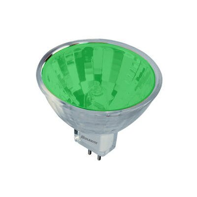 Bi-Pin 50W Green 12-Volt Halogen Light Bulb (Set of 7)