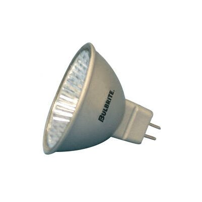 Bi-Pin Silver 12-Volt Halogen Light Bulb (Set of 6) Wattage: 35W