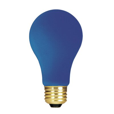 Blue 120-Volt Incandescent Light Bulb (Set of 19) Wattage: 25W