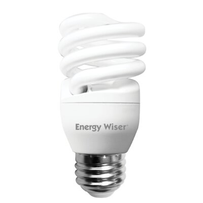 13 Watt Super Mini Low-Mercury Compact Fluorescent Light Bulb (Set of 8)