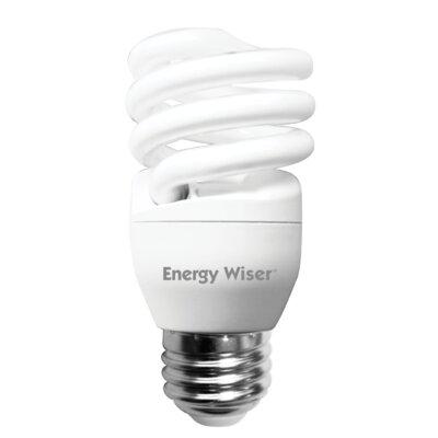 13 Watt Super Mini Low-Mercury Compact Fluorescent Light Bulb