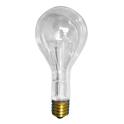 300W 130-Volt (2800K) Incandescent Light Bulb