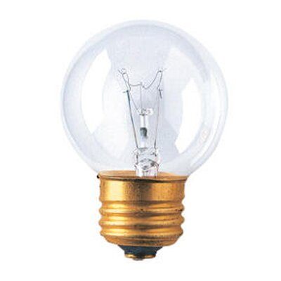 120-Volt Incandescent Light Bulb Wattage: 40W