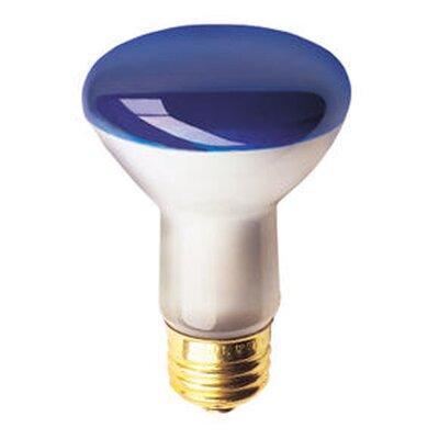 50W Colored Halogen Light Bulb (Set of 10) Color: Blue
