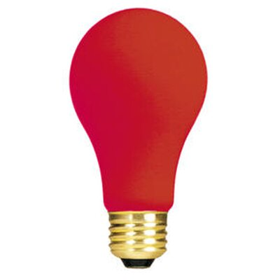 Red (2700K) Incandescent Light Bulb (Pack of 12) (Set of 2)