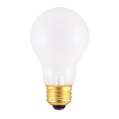 75W Frosted 220 - Volt (2600K) Incandescent Light Bulb (Set of 17)
