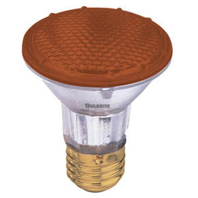 50W Amber 120-Volt Halogen Light Bulb (Set of 4)