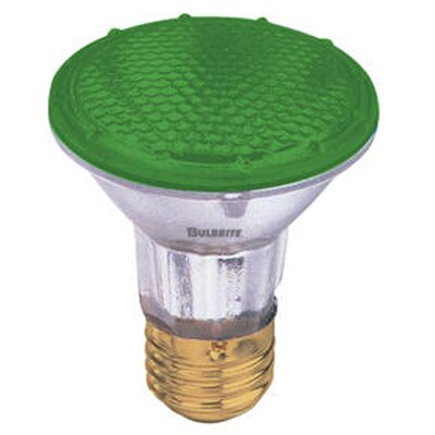 50W Green 120-Volt Halogen Light Bulb (Set of 4)