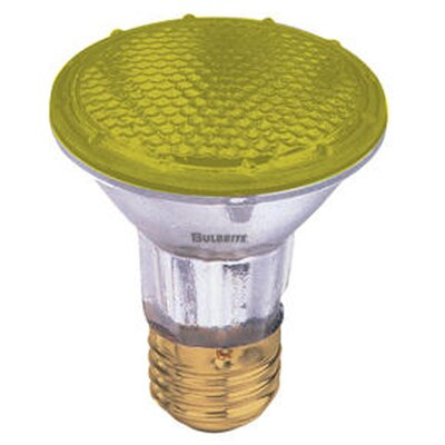 50W Yellow 120-Volt Halogen Light Bulb