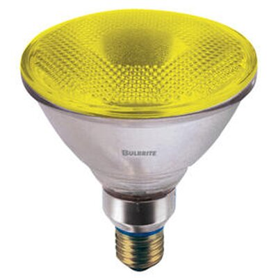90W Yellow 120-Volt Halogen Light Bulb