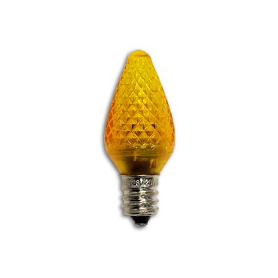 0.35W Orange 120-Volt LED Light Bulb (Pack of 25)