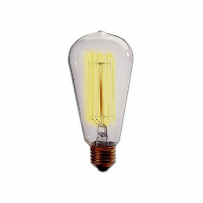 Nostalgic Edison 40W 120-Volt Incandescent Light Bulb I (Set of 4)