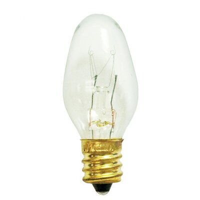 C7 Blinking Christmas Light (Set of 40) Bulb Color: Clear