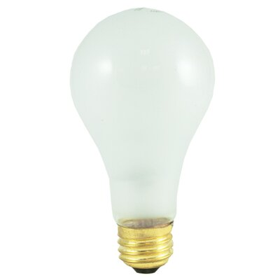 Frosted E26/Medium Incandescent Light Bulb (Set of 15) Wattage: 150W