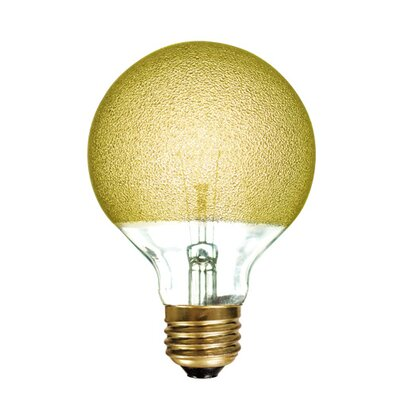 Crystal 40W Yellow Incandescent Light Bulb